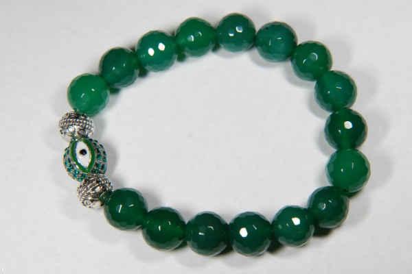 агат камень-зеленый агат