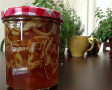 лук с медом от кашля-рецепт