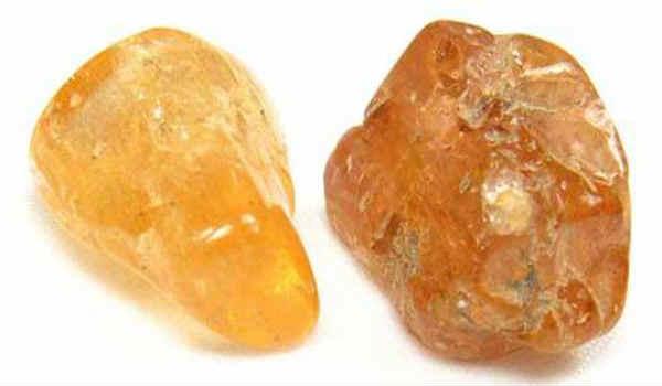 камень топаз-желтый