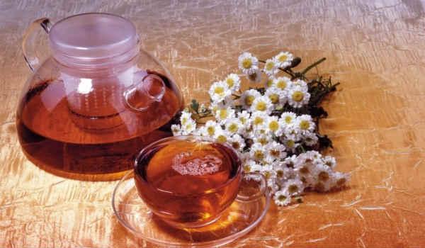 народные средства от боли в горле-чай