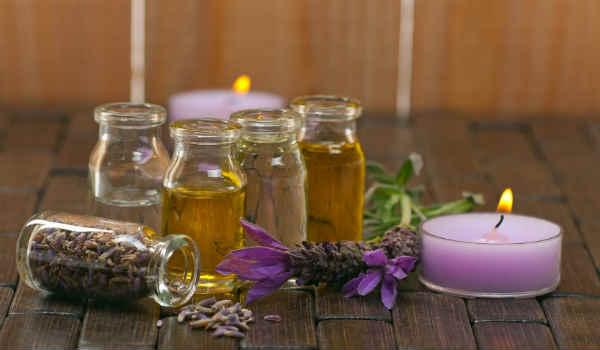 массаж с эфирными маслами-применение