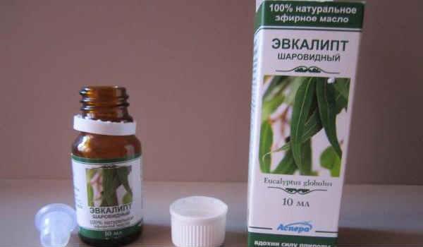 эфирное масло эвкалипта-состав