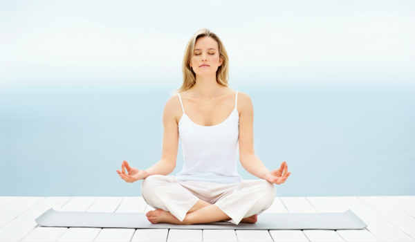 йога при сахарном диабете-глубокое дыхание