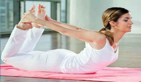 йога при сахарном диабете-поза лука
