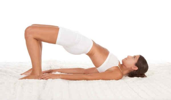 йога при сахарном диабете-поза мостик