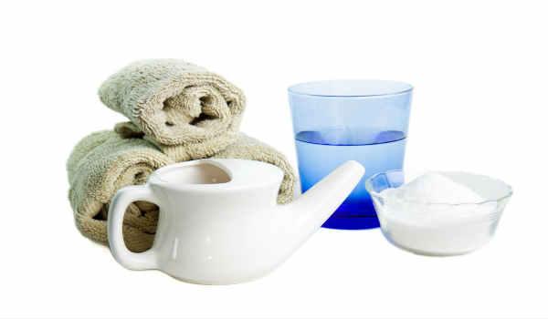 промывание носа солевым раствором-как приготовить