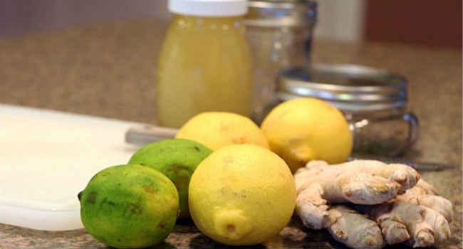 imbir-limon-med-retsept