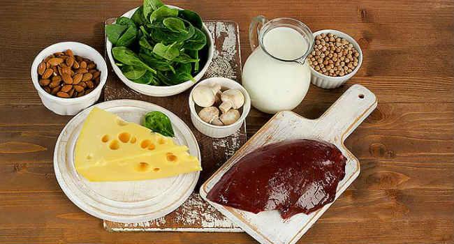 витамин в2-продукты-где содержится