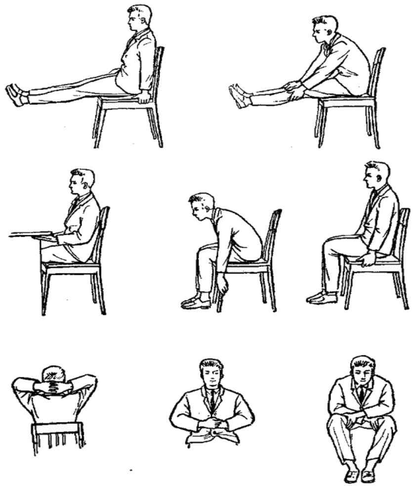 Как сидеть на стуле при простатите