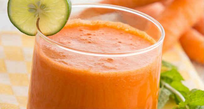 морковный сок от насморка-в нос