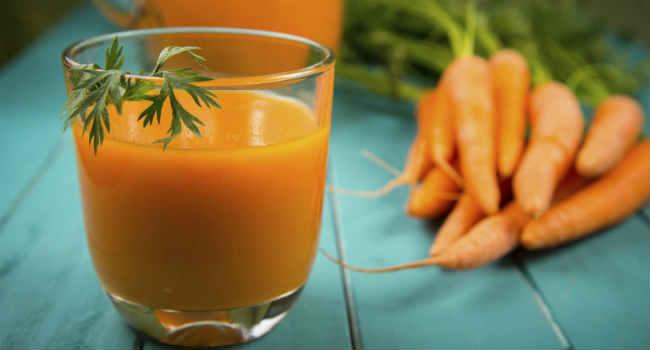 морковный сок-состав-свойства