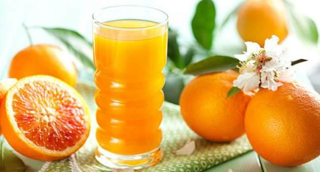 апельсиновый сок-свойства-состав