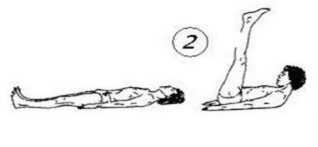 гимнастика тибетских монахов-упражнение 2