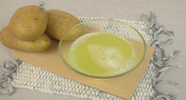 картофельный сок для желудка-как пить