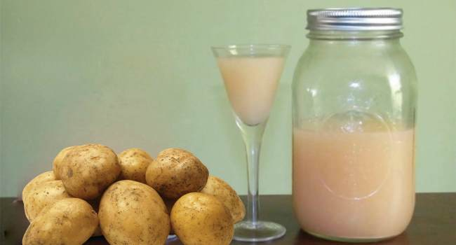 картофельный сок для желудка-как приготовить
