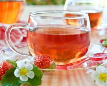 чай из листьев земляники-польза-вред-как заваривать