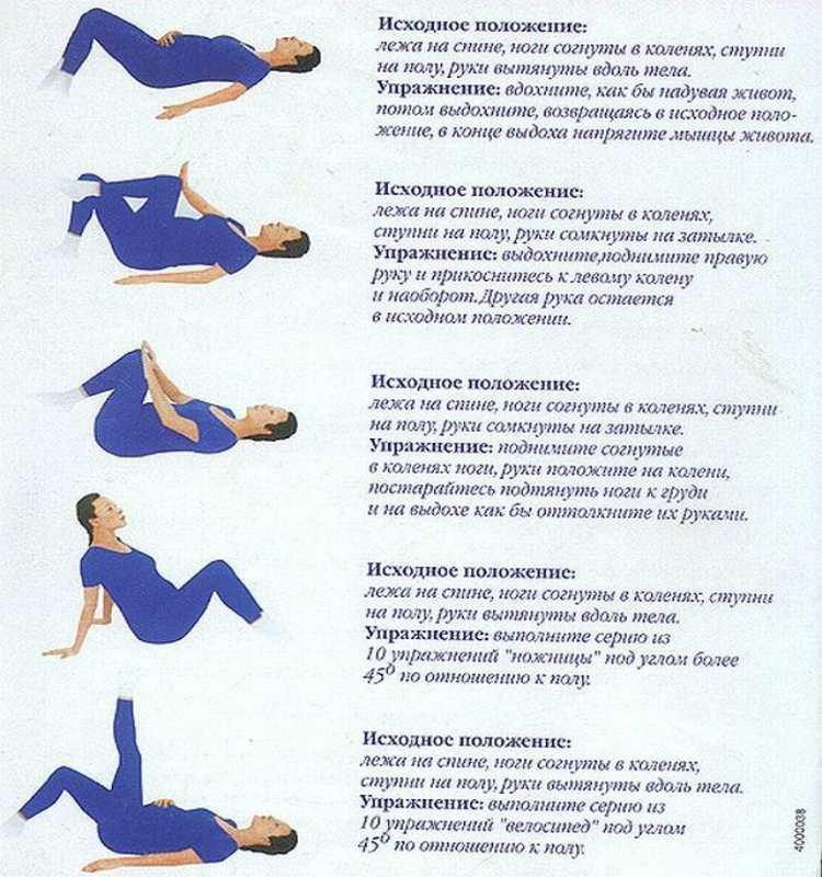 Упражнения для беременных при гипоксии плода 8