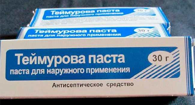 паста теймурова-состав-применение-противопоказания