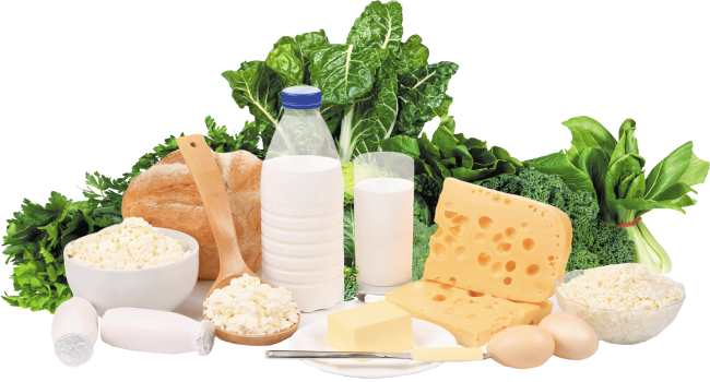 в каких продуктах содержится кальций-молоко