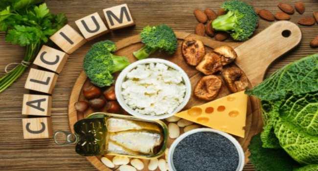 в каких продуктах содержится кальций-овощи