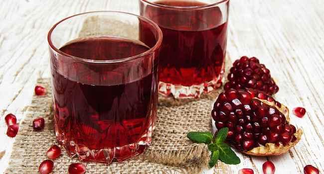 гранатовый сок-свойства-противопоказания-как пить