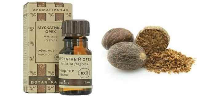эфирное масло мускатного ореха-применение-свойства
