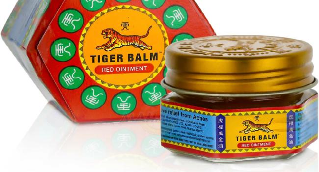 тигровый бальзам красный-от чего помогает как применять
