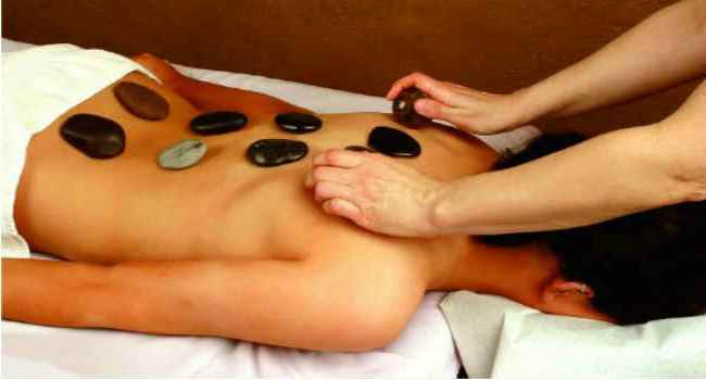 Как называется массаж камнями