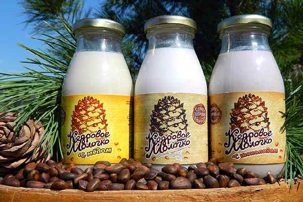 кедровое молочко-лечебные свойства и польза