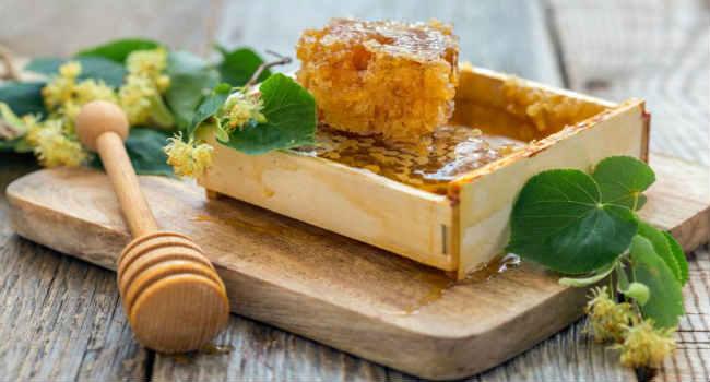 мед в сотах-польза для организма