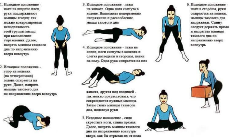 лечебная гимнастика при геморрое-комплекс упражнений 1