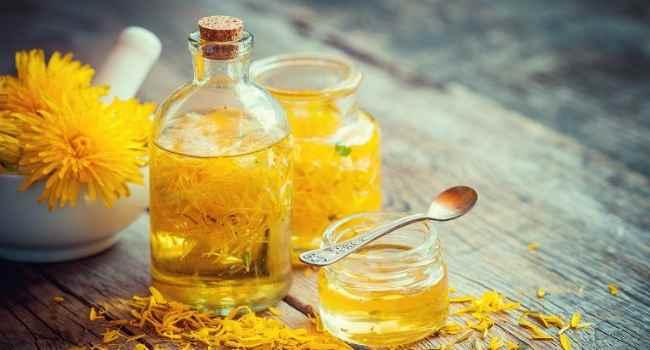 масло из одуванчиков-рецепт-свойства-применение